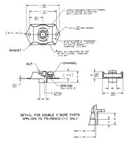 F51559 - Anchor Nut Floating, Spring Loaded