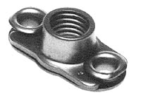 MF1000 Anchor Nut - Miniature, Two-Lug, Floating