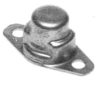 MF1968C Anchor Nut - Two-Lug, Floating, Miniature, Self Sealing, Cres