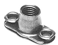 MF19058 Anchor Nut - Miniature, Two-Lug, Floating, Deep C'Bore