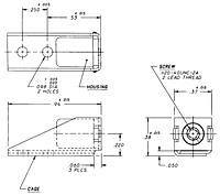 CA2014 Series Assembly Receptacle - Right Angle Mounted