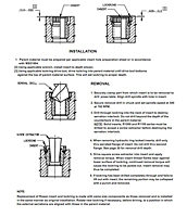 Installation & Removal Instructions - RJ RDJ 900