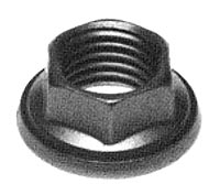HW41 Wrenchable Six Point Nut - Captive Washer