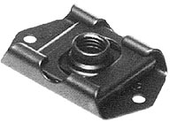 F51559 Anchor Nut - Floating, Spring Loaded